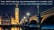 Holiday lets Central London. StayinnLondon